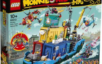 Con LEGO Monkie Kid puoi ricreare in mattoncini la storia ultracentenaria deI Viaggio in Occidente
