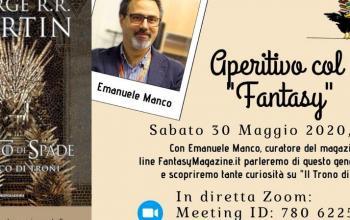 Un aperitivo con Emanuele Manco e il fantasy