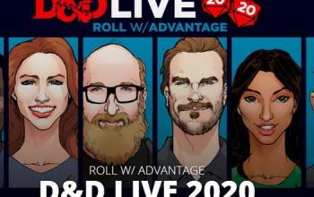 D&D Live 2020 con David Harbour