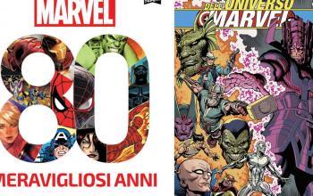 Pronti a festeggiare con 80 Meravigliosi Anni e La storia dell'Universo Marvel?