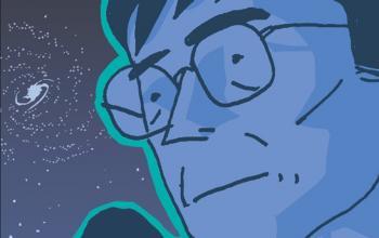 Dal 25 giugno arriva Stephen Hawking a fumetti