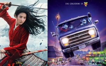 Le uscite Disney: Onward dal 19 agosto al cinema e Mulan da settembre anche su Disney+
