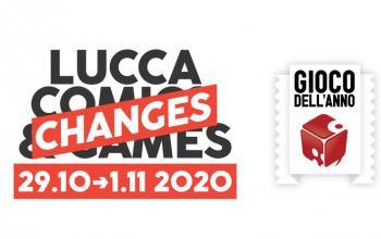 Record di editori iscritti ai premi gioco dell'anno e gioco di ruolo dell'anno di Lucca Changes