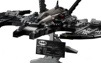 Il Batwing LEGO sta per atterrare!