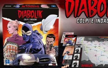 Diabolik diventa gioco da tavolo