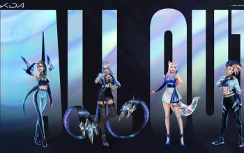 All Out: il primo album del gruppo musicale composto dai personaggi di League of Legends