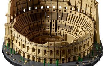 Arriva il Colosseo LEGO, il set più grande di sempre