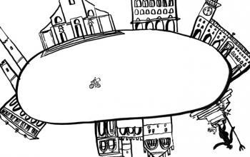 Bologna ha salutato il 2021 con un corto animato di Chiara Rapaccini sulle note di Lucio Dalla