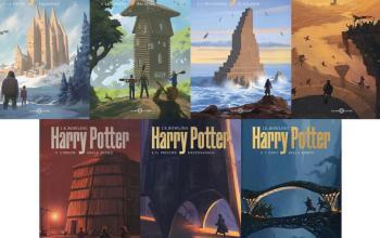La saga di Harry Potter con le nuove copertine è in libreria