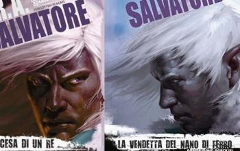 Con La vendetta del nano di ferro R.A. Salvatore torna in libreria con il finale della trilogia Companions Codex