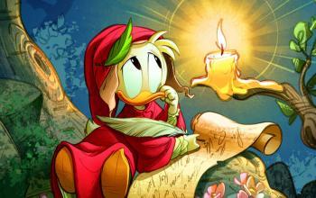 Disney commemora i 700 anni dalla morte di Dante con PaperDante