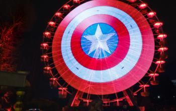 Lo scudo di Captain America annuncia l'arrivo di The Falcon and The Winter Soldier