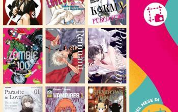 Edizioni BD e J-POP Manga: le uscite di aprile
