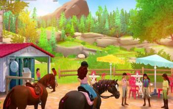 La linea di giocattoli Horse Club Schleich in un videogame