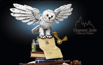 Il Gruppo LEGO presenta il nuovo set Harry Potter Icone di Hogwarts – Edizione del collezionista