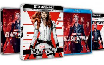 Black Widow arriva in DVD, Blu-Ray e 4K