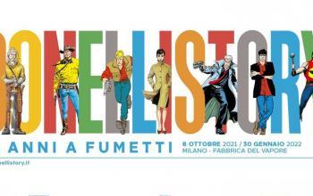 Da oggi Bonelli Story. 80 anni di fumetti in mostra a Milano