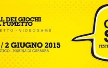 Gioco, fumetto e videogame: arriva il Carrara Show!