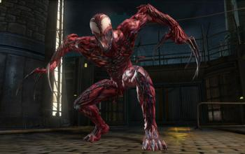 Carnage su Marvel Ultimate Alliance 2