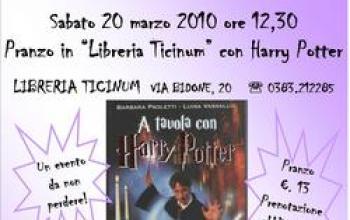 A Voghera si mangia e si gioca con Harry Potter