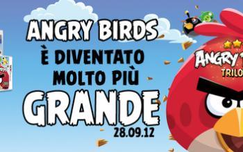Angry Birds Trilogy è arrivato nei negozi italiani