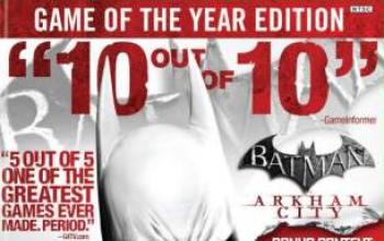 Batman: Arkham City, la GOTY Edition e una nuova espansione in arrivo