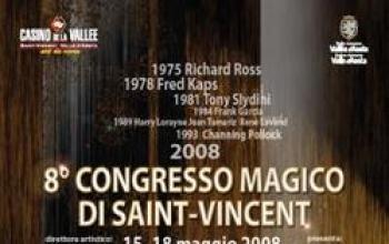 Al via l'8° Congresso Magico di Saint-Vincent