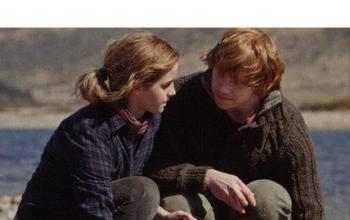 J.K. Rowling, Ron, Hermione e il caos in rete