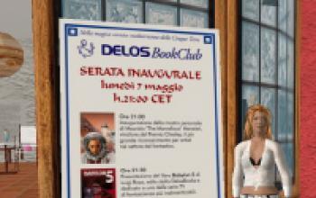 Delos BookClub: apre il nostro ritrovo su Second Life