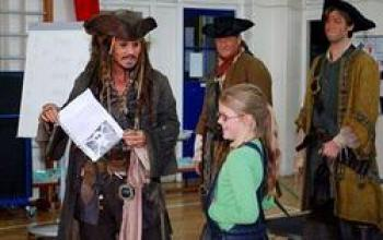 Capitan Jack Sparrow e l'ammutinamento scolastico