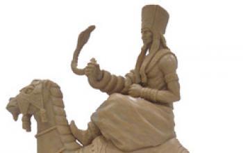 """Prime immagini delle sculture per il gioco da tavolo """"Age of Conan"""""""