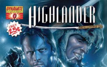 Highlander entra nel mondo del fumetto