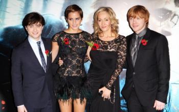 Harry Potter e l'ultima premiere a Trafalgar Square