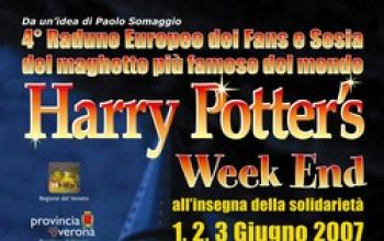 Harry Potter's Weekend all'insegna della solidarietà
