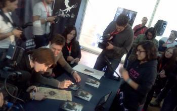 I gemelli Phelps  a Lucca Comics & Games 2011