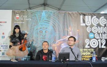 Lucca Comics&Games 2012: Francesco Falconi e il richiamo delle Muse