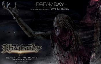 Rhapsody: pubblicata la prima immagine del nuovo video di Clash Of The Titans