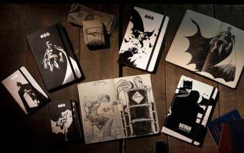 Batman: arrivano i taccuini della Moleskine in edizione limitata