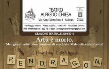 Pendragon al Teatro Alfredo Chiesa