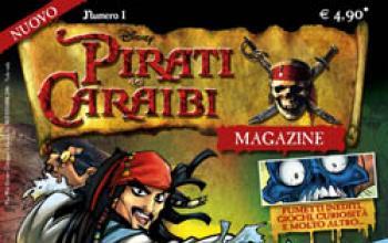 Jack Sparrow invade i cinema, le edicole e… il Mississippi