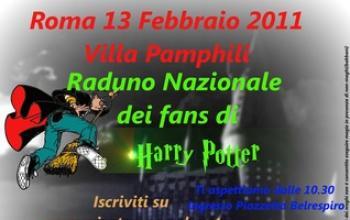 Roma: 1° raduno nazionale dei fan di Harry Potter