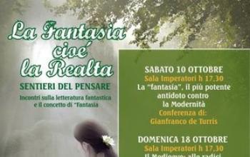 La fantasia, cioè la Realtà, conferenze sul Fantastico a Porto San Giorgio (FM)
