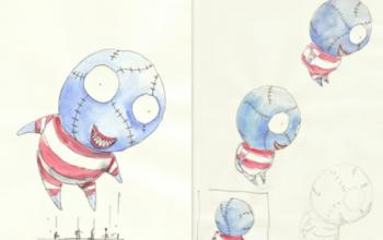 Tim Burton per il Macy's Thanksgiving Parade