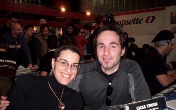 Licia Troisi a Lucca: faremo un film