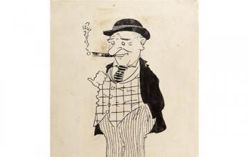 Walt Disney: battuta all'asta la sua prima illustrazione