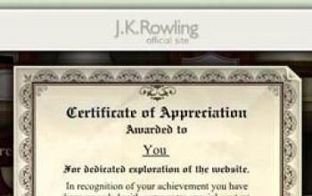 JKRowling.com, il sito dei misteri… svelati!