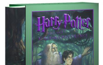 Harry Potter e il Principe Mezzo-Sangue: svelata la copertina deluxe