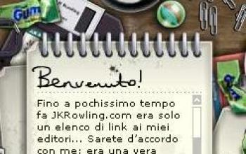 All'asta il bloc-notes con i segreti di Harry Potter