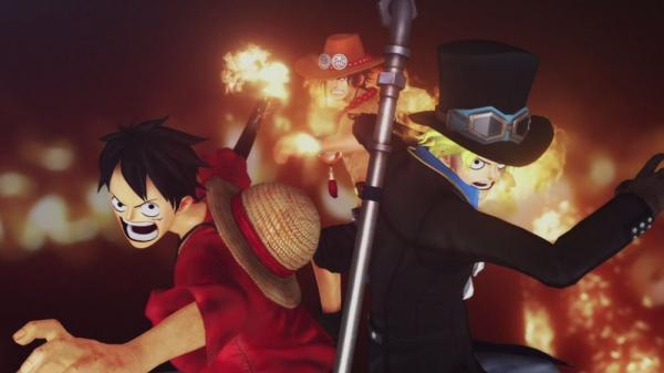 <i>One Piece Burning Blood</i>