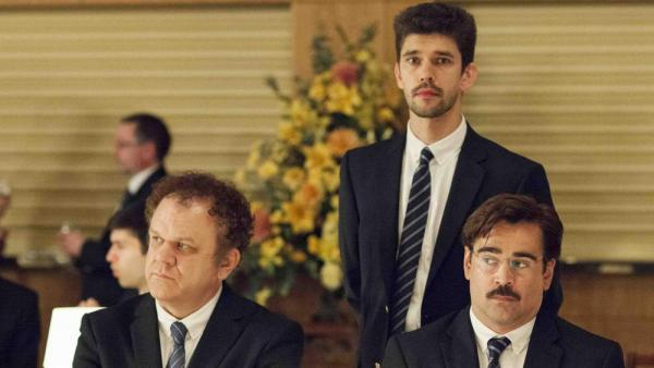 John C Reilly, Ben Whishaw e Colin Farrell in 'The Lobster'